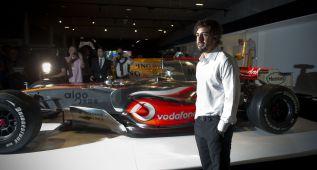 Fernando Alonso inaugura su museo y circuito en Oviedo