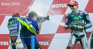 """Lorenzo: """"Si Valentino estaba primero merece la victoria"""""""