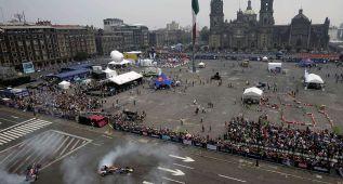 """Red Bull entrega una """"dosis"""" de F1 en la Ciudad de México"""