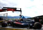 Honda confirma que podrían cambiar el motor de Alonso