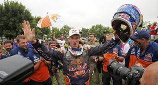 Las imágenes de la carrera deportiva de Marc Coma
