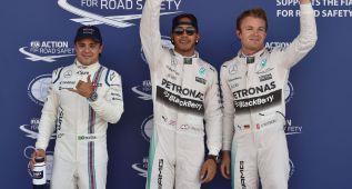 Pole para Hamilton; Sainz saldrá octavo y Alonso, decimoséptimo