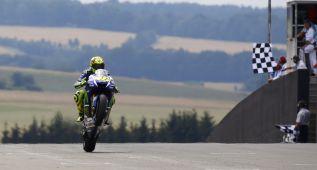 Sachsenring 'bendice' a Valentino Rossi como campeón