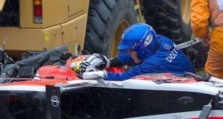Bianchi soportó 254 veces el peso de su cabeza con el casco