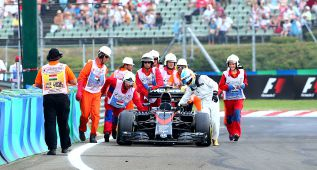 """Fernando Alonso: """"Al final, el esfuerzo fue para nada"""""""