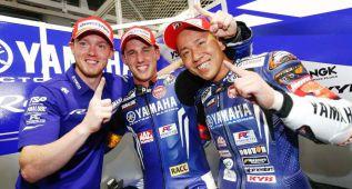 Pol Espargaró le da a Yamaha la pole y el récord del circuito