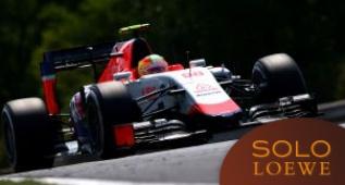 Roberto Merhi firmó su mejor primera vuelta en la Fórmula 1