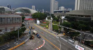 Cambios en el circuito de Singapur para el gran premio