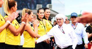Ecclestone bromeó con Wolff sobre dejarse ganar en Hungría