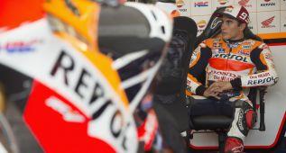 """Márquez: """"Es difícil remontar 52 a un piloto y más a dos"""""""