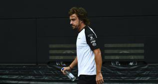 """Alonso: """"Saldré último en Spa, pero pensando en 2016"""""""