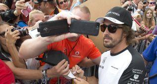 Fernando Alonso saldrá último en la apuesta de McLaren
