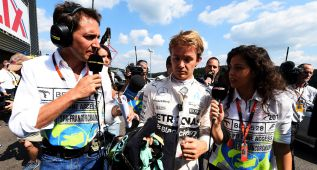 Pirelli descarta fallo estructural en el neumático de Rosberg
