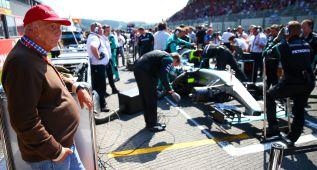 Lauda contra Vettel por sus críticas a Pirelli en Spa