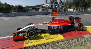 Manor feliz de seguir el ritmo de los McLaren en Bélgica