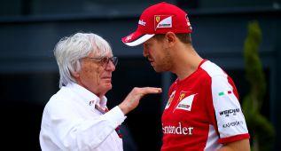 Ecclestone contra Mercedes, con Vettel y se olvida de Alonso