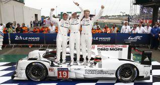 El título en Le Mans anima a Porsche a seguir hasta 2018