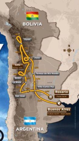 El Dakar 2016 saldrá de Buenos Aires y acabará en Rosario