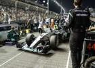 Mercedes no se explica lo ocurrido en el GP de Singapur
