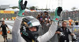 Rosberg se lleva la pole, Carlos Sainz saldrá 10º y Alonso 12º
