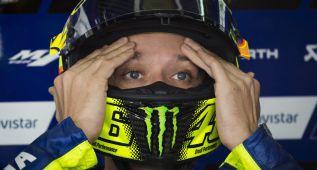 """Rossi: """"Soy medio segundo más lento que los tres de arriba"""""""
