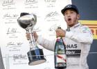 Hamilton emocionado por igualar en victorias a Senna