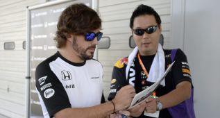 "Alonso en Twitter: ""Mi carrera en F-1 acabará en McLaren"""