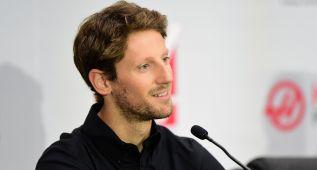 """Romain Grosjean será el """"piloto líder"""" de Haas en 2016"""