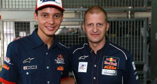 Binder y Bendsneyder forman el equipo Red Bull KTM Ajo 2016