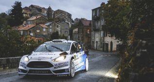 Evans lidera por sorpresa en el diluvio del Tour de Córcega