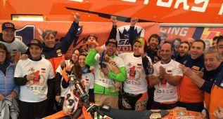 Laia gana su cuarto Mundial y viaja ya al Rally de Marruecos