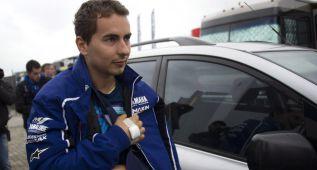 """Lorenzo: """"El hombro está OK. Podré pilotar sin problemas"""""""