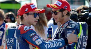 Amenaza de lluvia de nuevo en el duelo Rossi-Lorenzo