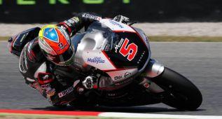 Un relajado Zarco domina los entrenamientos de Moto2