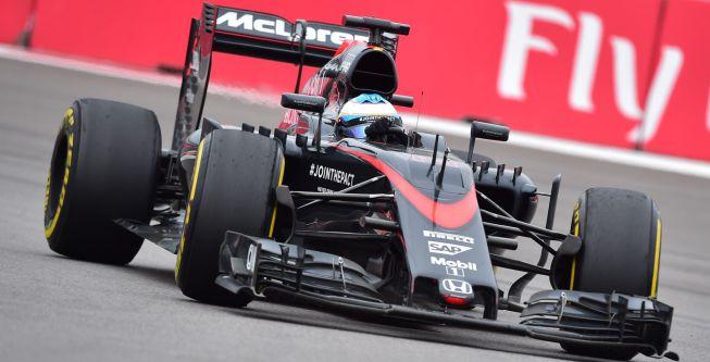Mejoras en Honda: medio segundo más para Alonso