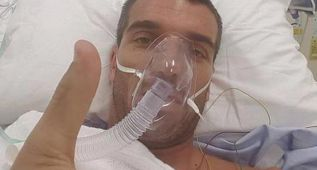 De Angelis mejora levemente pero sigue en estado crítico