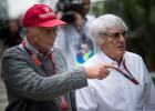 Niki Lauda podría sustituir a Ecclestone al frente de la F-1