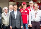 El Presidente Peña convivió con pilotos en el Autódromo