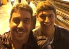 Famosos se trasladan en Metro para disfrutar de la Fórmula 1