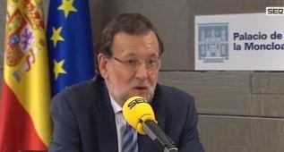 """Rajoy: """"Todo el mundo vio la patada de Valentino Rossi"""""""
