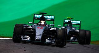 Hamilton y Rosberg lucharán por la pole en Interlagos