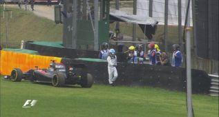 El McLaren de Alonso volvió a fallar: se paró en la Q1
