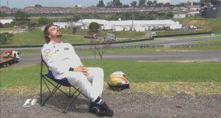 """Alonso acabó tomando el sol: """"Paciencia, la cosas cambiarán"""""""