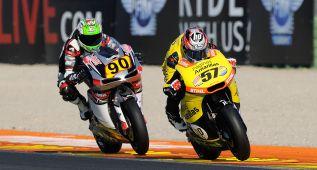 Nicolò Bulega y Edgar Pons, campeones en Valencia