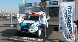 Gracia y Mitsubishi, la victoria en el Dakar se llama Rosario