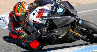 Jordi Torres estrena la BMW del Althea Racing en Jerez