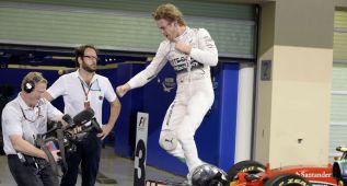 """Rosberg, frío con Hamilton: """"Cenaremos separados"""""""