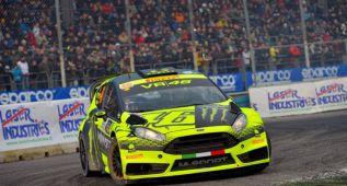 Rossi enjuga sus penas ganando el Monza Rally Show