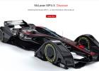 McLaren muestra su prototipo para la Fórmula 1 del futuro