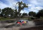 Loeb brilla, Sainz tropieza y el barro hunde a Roma